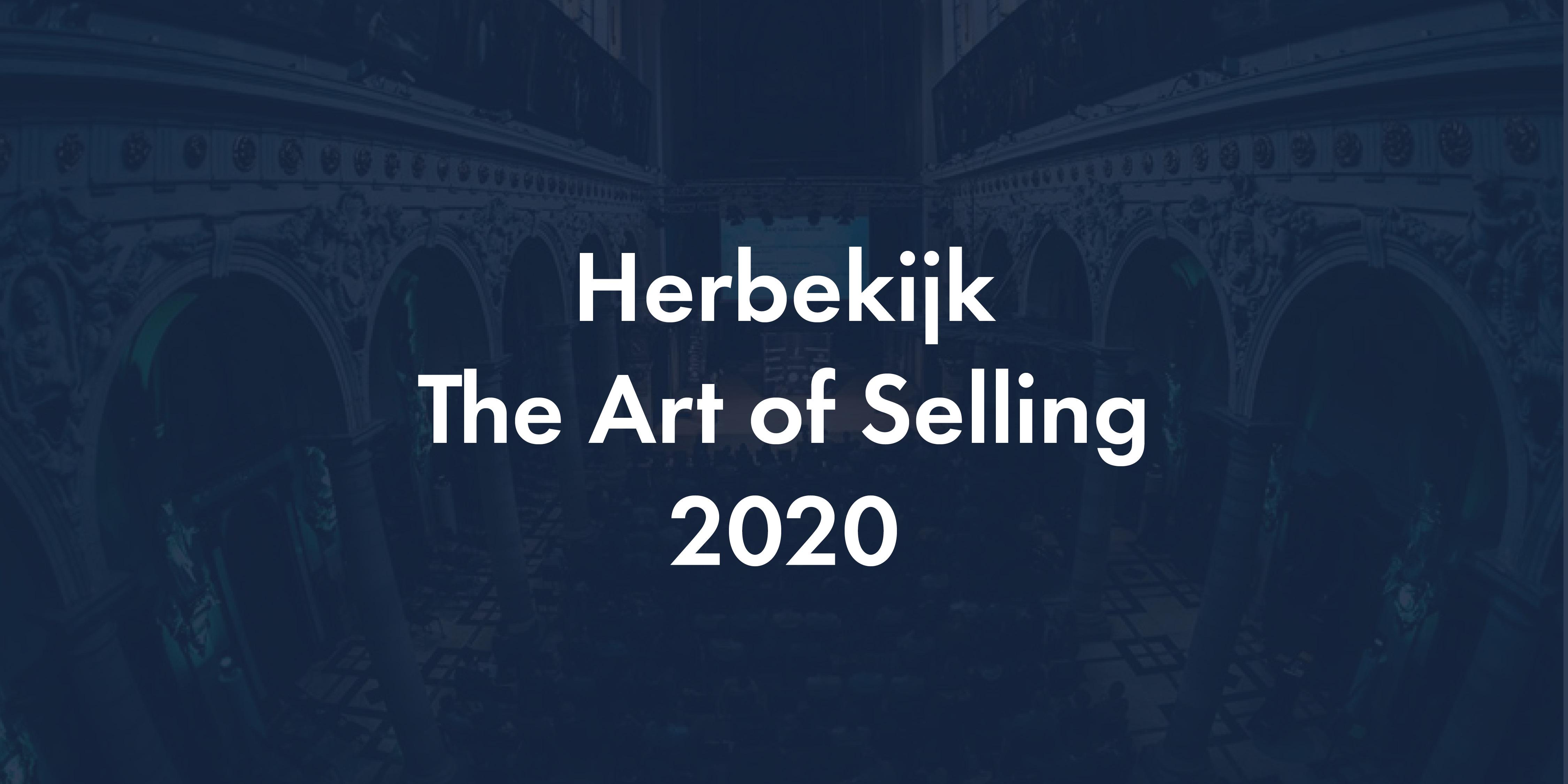The art of selling herbekijken